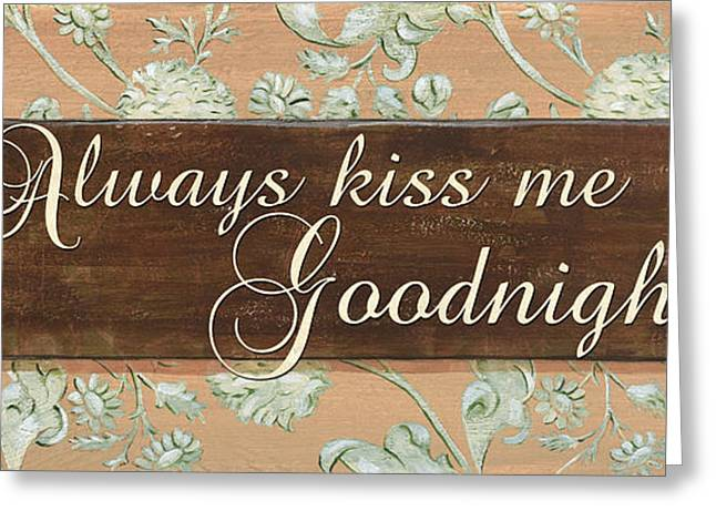 Kissing Greeting Cards - Bienvenue Kiss Greeting Card by Debbie DeWitt
