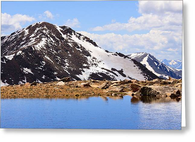 Colorado Front Range Greeting Cards - Bierstadt Infinity Greeting Card by Adam Pender