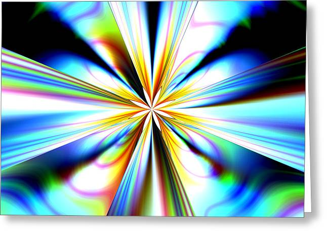 Expanding Light Greeting Cards - Big Bang Greeting Card by Laguna Design