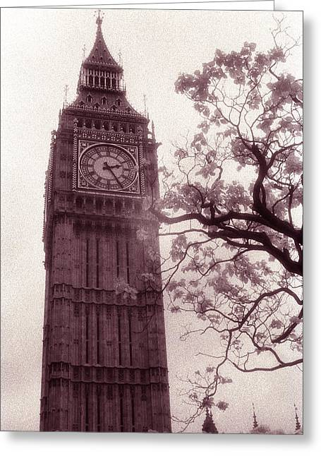Architecture Framed Prints Greeting Cards - Big Ben Greeting Card by Kathy Yates