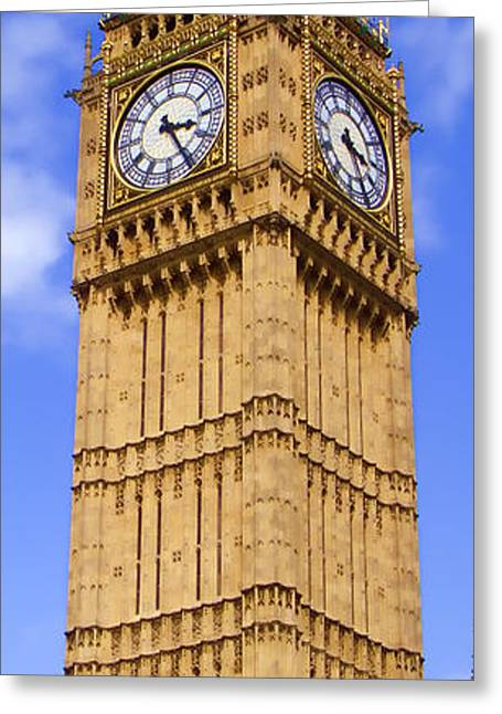 Big Ben Greeting Card by Roberto Alamino