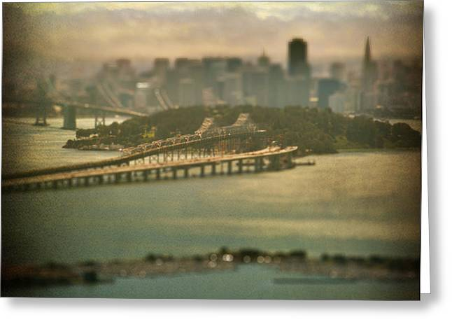 Big City Dreams Greeting Card by Laurie Search