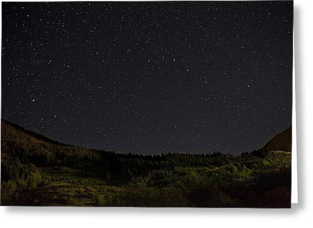 Best Seller Greeting Cards - Big Dipper Greeting Card by Melany Sarafis