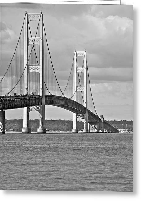 Mackinaw City Greeting Cards - Big Mac Greeting Card by Michael Peychich
