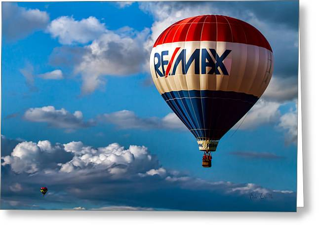 Big Max RE MAX Greeting Card by Bob Orsillo