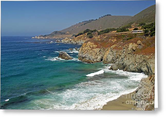 Pch Greeting Cards - Big Sur 2 Greeting Card by Rod Jones