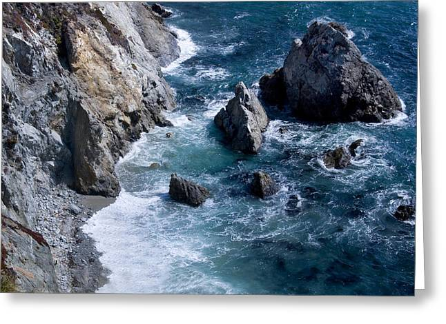 Big Sur California Greeting Cards - Big Sur Greeting Card by Anthony Citro