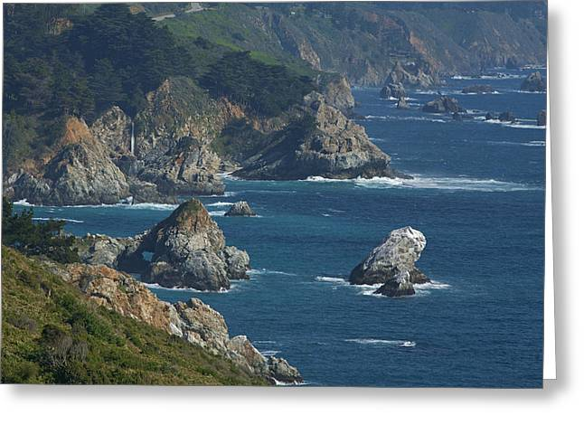Big Sur Ca Greeting Cards - Big Sur Coast Greeting Card by Gregory Scott