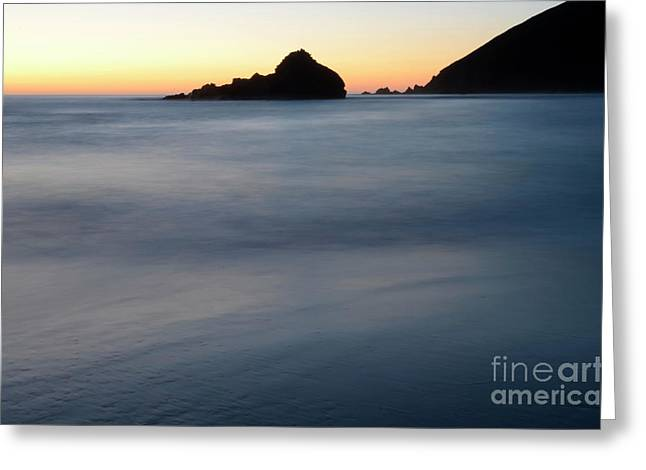 Pfeiffer Greeting Cards - Big Sur Silk Greeting Card by Bob Christopher