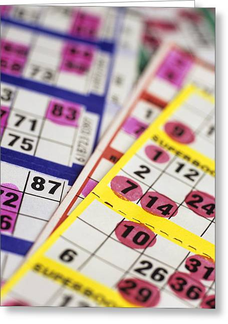 Dab Greeting Cards - Bingo Cards Greeting Card by Kevin Curtis