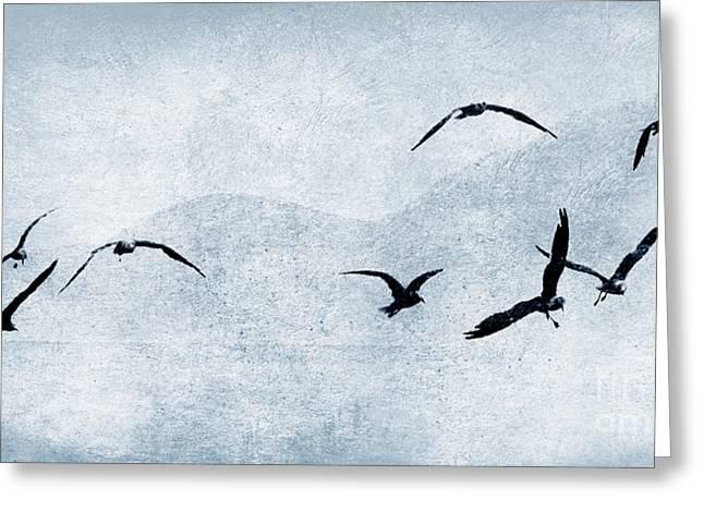 Many Pyrography Greeting Cards - Birds 3 Greeting Card by Alexander Bakumenko