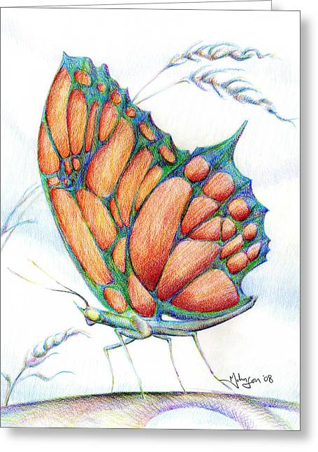 Mark Johnson Greeting Cards - Birgits Butterfly Greeting Card by Mark Johnson