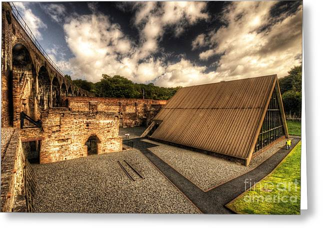 Coalbrookdale Greeting Cards - Birthplace of a Revolution Greeting Card by Rob Hawkins