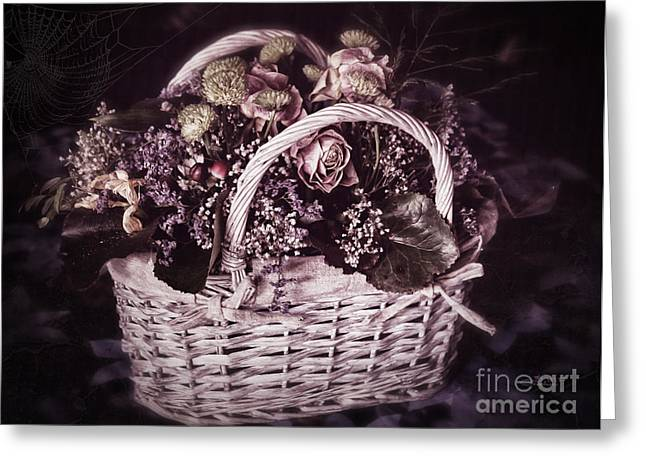 Bittersweet Memories Greeting Card by Jutta Maria Pusl