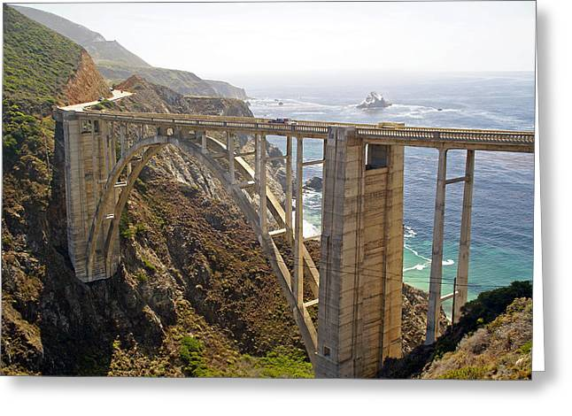 Coast Highway One Greeting Cards - Bixby Creek Bridge Greeting Card by Rod Jones
