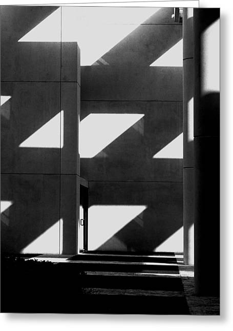 Black And White  Greeting Card by Stuart Brown