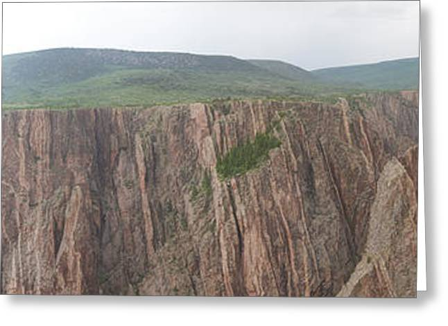 The Plateaus Greeting Cards - Black Canyon of the Gunnison Greeting Card by Gregory Scott