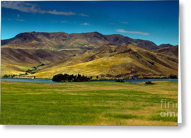 Landsacape Greeting Cards - Black Canyon Reservoir Greeting Card by Robert Bales