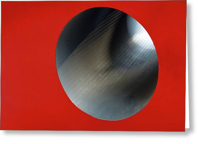 Gaphic Greeting Cards - Black Hole Greeting Card by Paul Wear