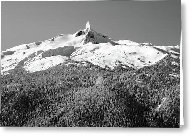 Black Tusk Greeting Card by Pierre Leclerc Photography