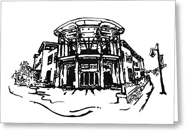 Blair Public Library in Fayetteville AR Greeting Card by Amanda  Sanford
