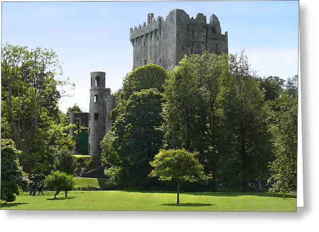 Ground Greeting Cards - Blarney Castle - Ireland Greeting Card by Mike McGlothlen