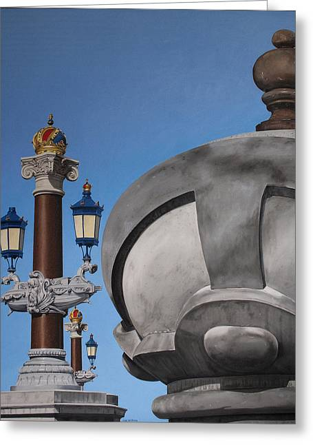 Photorealism Greeting Cards - Blauwbrug Greeting Card by Rob De Vries