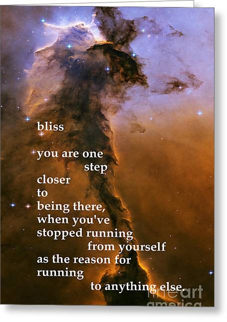 Bliss Greeting Card by Richard Donin