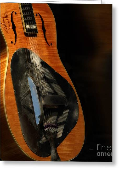 Resonator Greeting Cards - Blonde Heat  Greeting Card by Steven  Digman