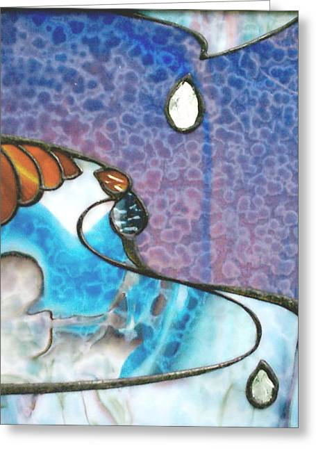 Sweat Mixed Media Greeting Cards - Blood sweat and  tears Greeting Card by Greg Gierlowski