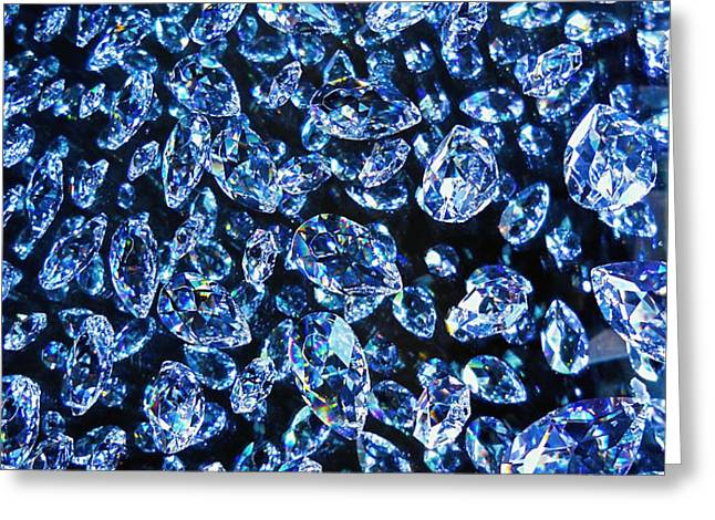 Blue ... Greeting Card by Juergen Weiss