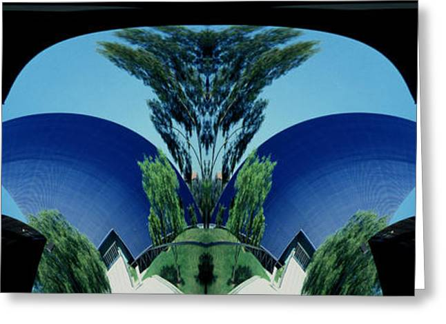 Blue Arches Greeting Card by Paul W Faust -  Impressions of Light