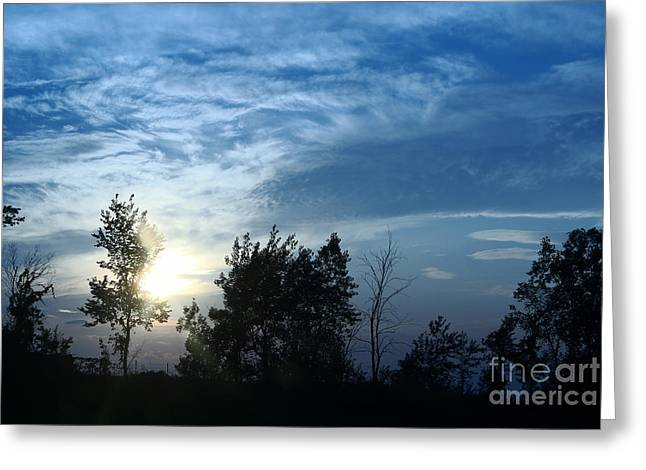 """aimelle Prints"" Greeting Cards - Blue Canvas Sky 03 Greeting Card by Aimelle"