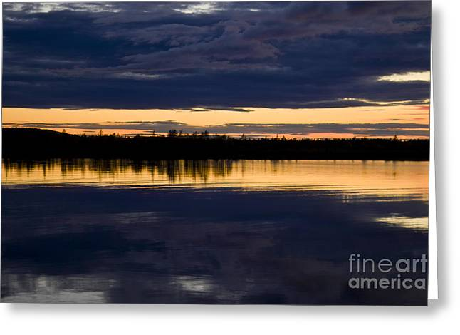 Blue hour Greeting Card by Heiko Koehrer-Wagner
