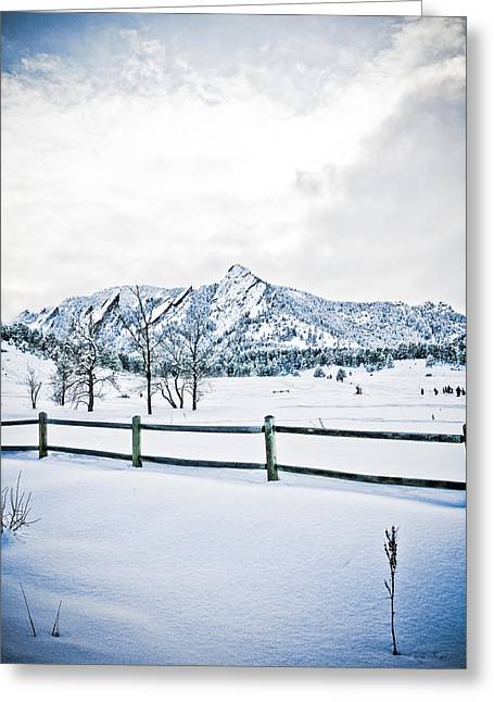 Colorado Greeting Cards - Blue Ice 3 Greeting Card by Marilyn Hunt