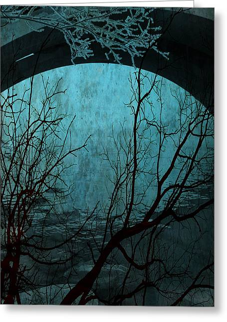 Nyc Framed Prints Greeting Cards - Blue Lagoon  Greeting Card by Jerry Cordeiro