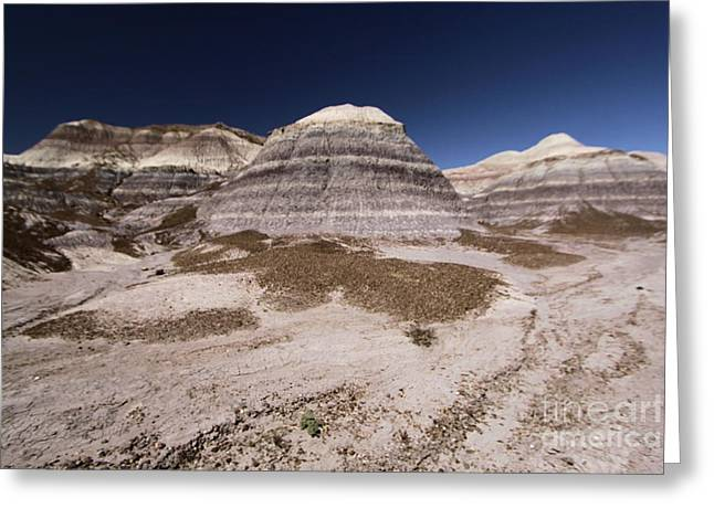 Petrified Forest National Park Greeting Cards - Blue Mesa At Petrified Forest Greeting Card by Adam Jewell