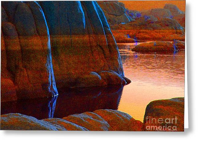 Prescott Photographs Greeting Cards - Blue Moon Greeting Card by Robert Hooper