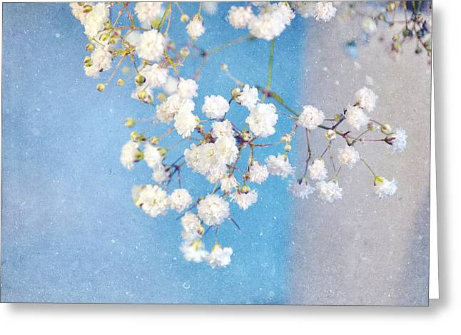 Lyn Randle Greeting Cards - Blue Morning Greeting Card by Lyn Randle