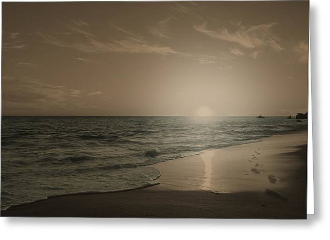 Photoshop Cs5 Greeting Cards - Blue Ocean - ID Greeting Card by Justin Shaner