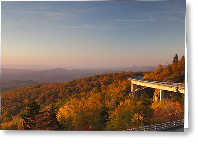 Blue Ridge Parkway Greeting Cards - Blue Ridge Parkway Linn Cove Viaduct Greeting Card by Dustin K Ryan
