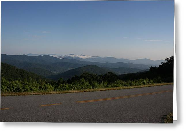 Stacy Bottoms Greeting Cards - Blue Ridge Parkway Greeting Card by Stacy C Bottoms
