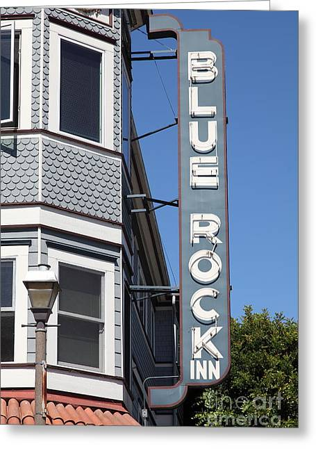 Blue Rock Inn - Larkspur California - 5d18498 Greeting Card by Wingsdomain Art and Photography