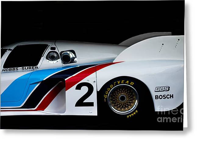 M1 Racing Greeting Cards - Bmw M1c Greeting Card by Andrew  Cragin