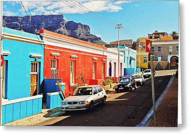 Bo-kaap Malayan Quarter Greeting Card by Benjamin Matthijs
