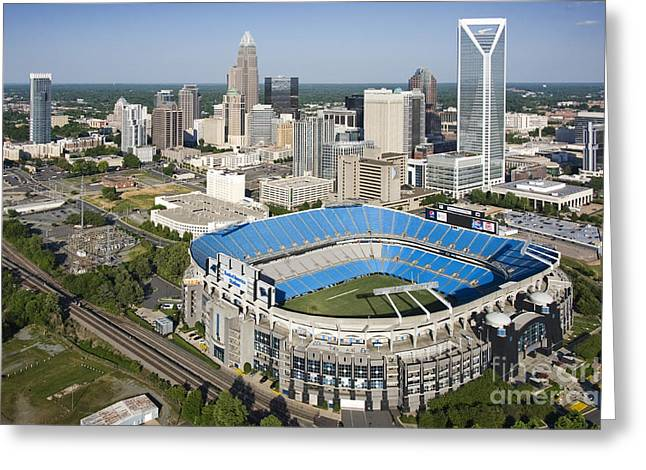 Clear Sky Images Greeting Cards - BOA Stadium in Charlotte Greeting Card by Clear Sky Images