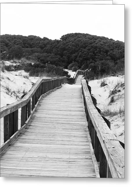 Tanya Chesnell Greeting Cards - Boardwalk Greeting Card by Tanya Chesnell