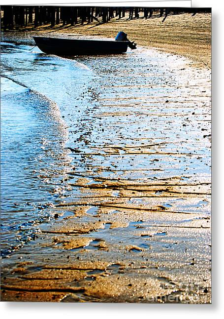 Provincetown Greeting Cards - Boat Greeting Card by HD Connelly