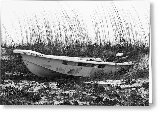 Topsail Island Greeting Cards - Boat Owners Statement Greeting Card by Betsy A  Cutler