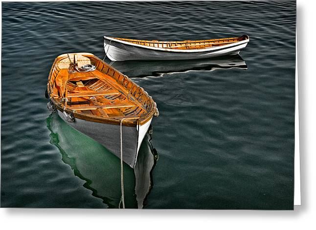Schooner Greeting Cards - Boats 1 Greeting Card by Fred LeBlanc